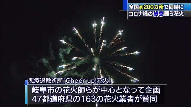 """""""Cheer up! Fireworks"""" Memberikan Semangat pada Masa Pandemi Covid-19"""